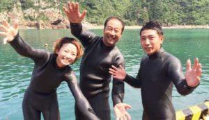 ダイビングのプロ活動へ!